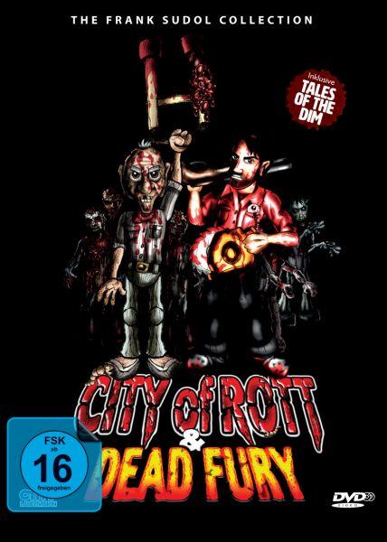 City Of Rott / Dead Fury (DVD-Double-Feature) (Pop-Up Mediabook)