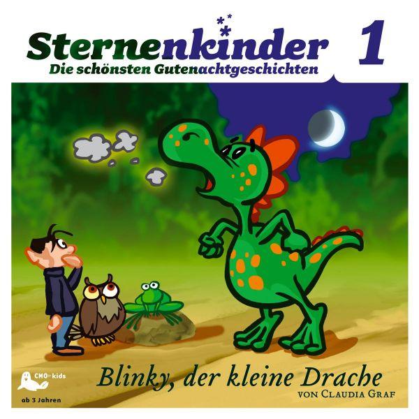 Menke, Karl-Rudolf - Sternenkinder 1: Blinky, Der Kleine Drache