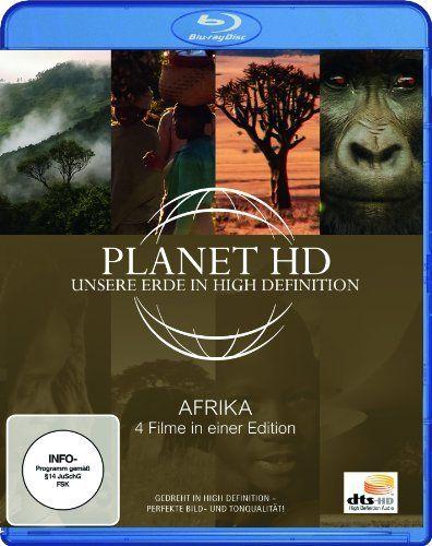 Planet HD - Unsere Erde In High Definition: Afrika (4 Filme in einer Edition - Blu-ray)