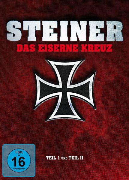Steiner - Das Eiserne Kreuz. Teil I und Teil II - Special Edition Mediabook