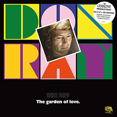 Don Ray - The Garden Of Love (LP+CD)