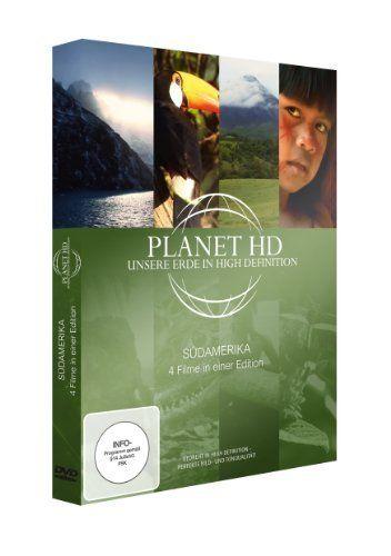 Planet HD - Unsere Erde in High Definition: Südamerika (4 Filme in einer Edition)
