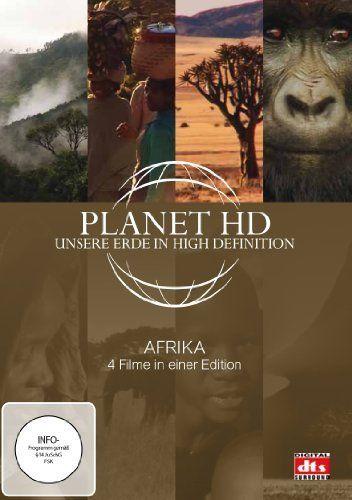Planet HD - Unsere Erde in High Definition: Afrika (4 Filme in einer Edition)