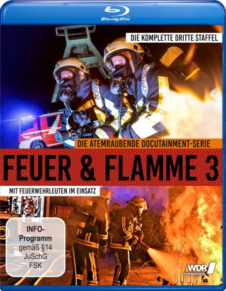 Feuer und Flamme - Mit Feuerwehrmännern im Einsatz - Staffel 3