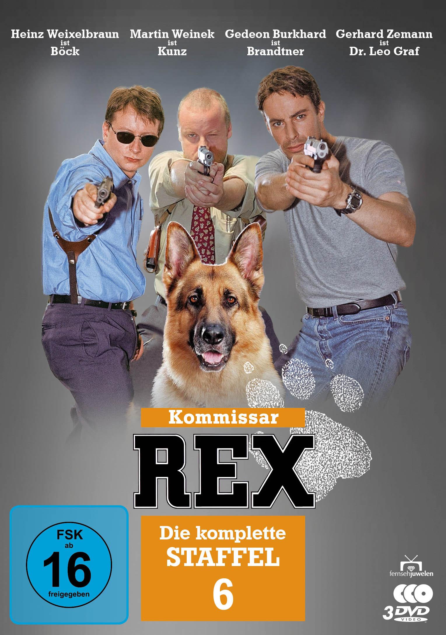 Kommissar Rex Staffel 6