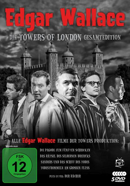 Edgar Wallace - Die Towers of London Gesamtedition