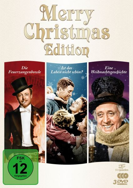 Merry Christmas Edition (Die Feuerzangenbowle, Ist das Leben nicht schön, Eine Weihnachtsgeschichte)