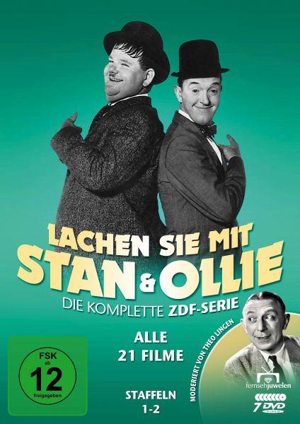 Lachen Sie mit Stan & Ollie - Die ZDF-Gesamtedition (Alle 21 Filme)