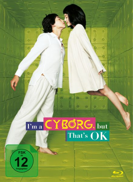 I'm a Cyborg, But That's OK- 2-Disc Mediabook (Blu-ray + DVD)