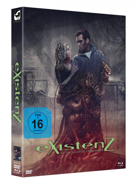 eXistenZ [Blu-ray + DVD Mediabook] (limitiert auf 2.000)