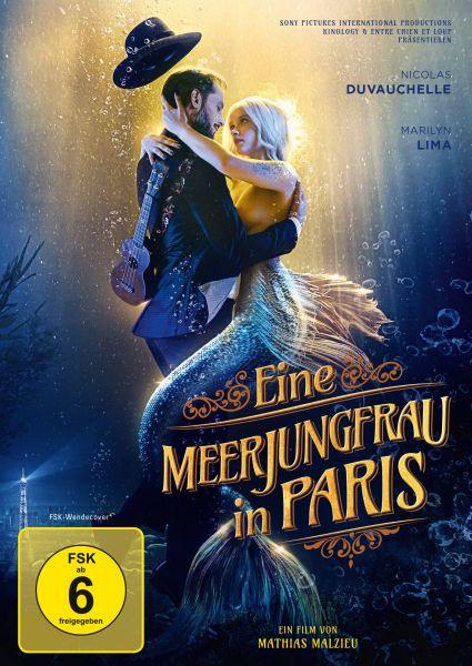 Eine Meerjungfrau in Paris