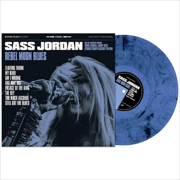 Jordan, Sass - Rebel Moon Blues (LP)