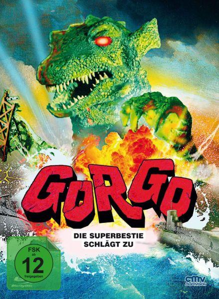 Gorgo - Cover B (Limitiertes Mediabook) (Blu-ray + DVD)