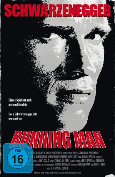 Running Man - Limited Retro-Edition im VHS-Design