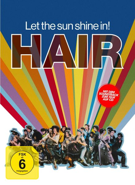Hair - 3-Disc Limited Collector's Edition im Mediabook (Blu-ray + DVD + Soundtrack-CD)