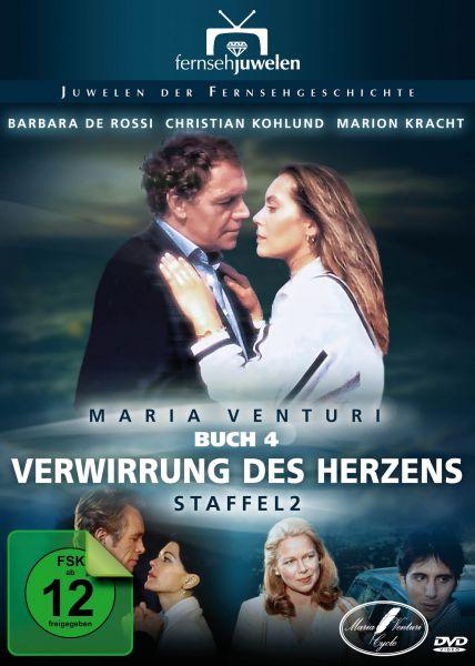 Maria Venturi Buch 4: Verwirrung des Herzens - Staffel 2 - Fernsehjuwelen