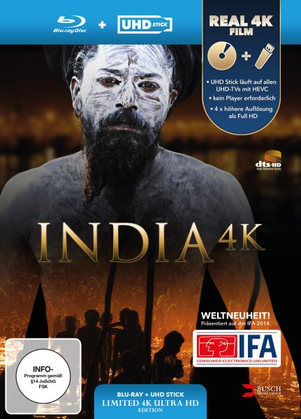 India 4K (UHD Stick in Real 4K + Blu-ray) - Limited Edition
