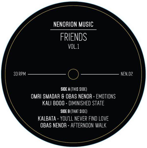 Various - Friends Vol. 1 EP