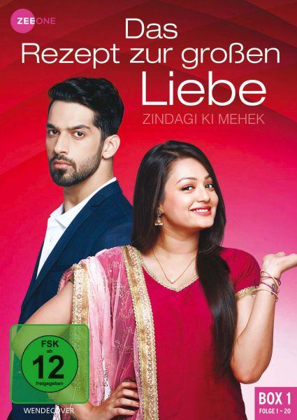 Das Rezept zur großen Liebe - Zindagi Ki Mehek (Box 1) (Folge 1-20)