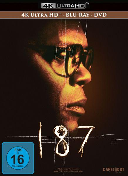187 - Eine tödliche Zahl - 3-Disc Mediabook (UHD + Blu-ray + DVD)