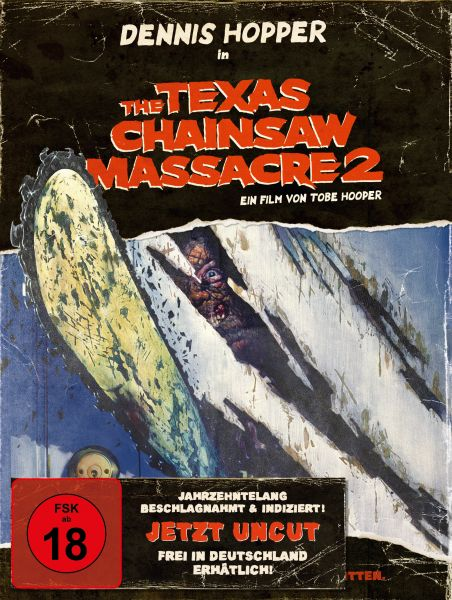 The Texas Chainsaw Massacre 2 (3-Disc-Digipack) (Blu-ray, DVD, Bonus-DVD)