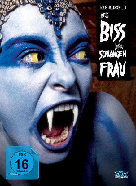 Der Biss der Schlangenfrau (Limitiertes Mediabook) (Blu-ray + DVD)