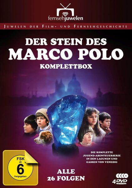 Der Stein des Marco Polo - Komplettbox (Alle 26 Folgen)