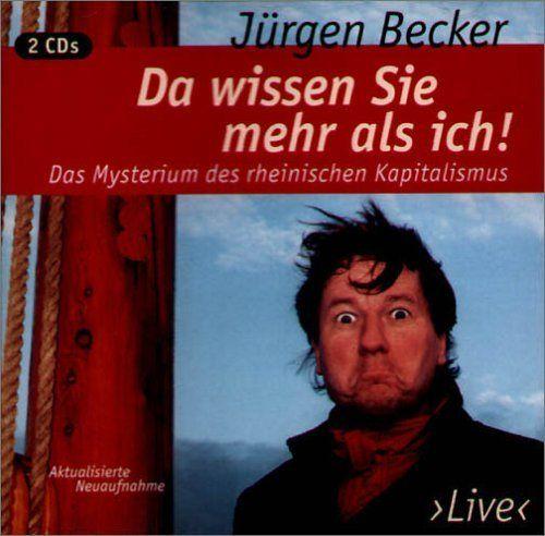 Becker, Jürgen - Da wissen Sie mehr als ich!