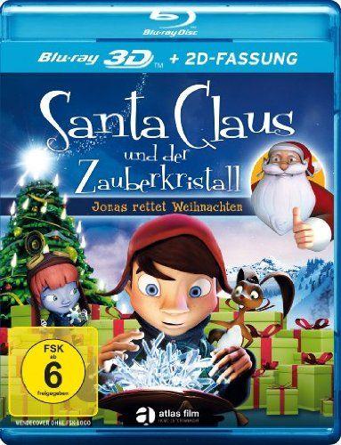 Santa Claus und der Zauberkristall (3D + 2D Blu-ray)