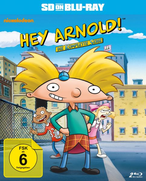 Hey Arnold! - Die komplette Serie (SD on Blu-ray)