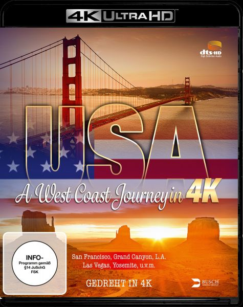 USA - A West Coast Journey (4K UHD)
