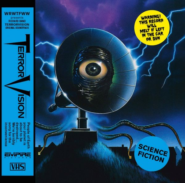 Band, Richard - TerrorVision OST (180 gr. blue LP)