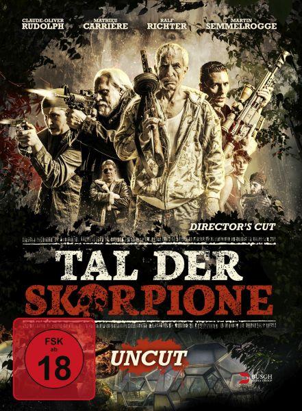 Tal der Skorpione (uncut) - 3-Disc Limited Edition (Mediabook) (Blu-ray + 2 DVDs)