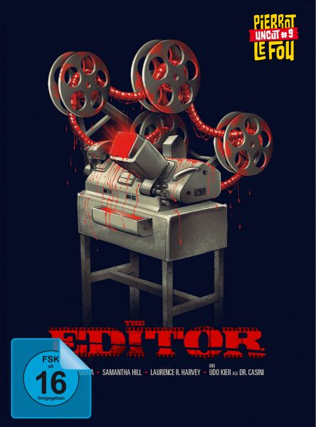 The Editor (uncut) - Limited Edition Mediabook (Blu-ray + DVD)