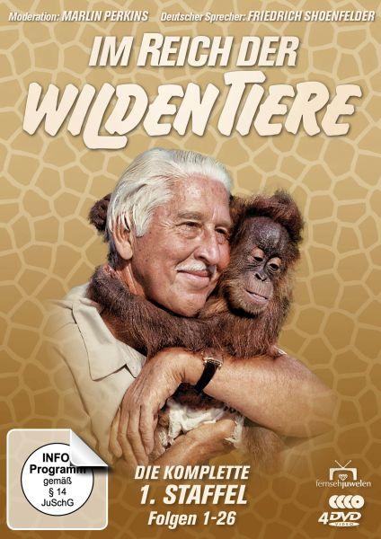 Im Reich der wilden Tiere - Die komplette 1. Staffel: Folgen 1-26