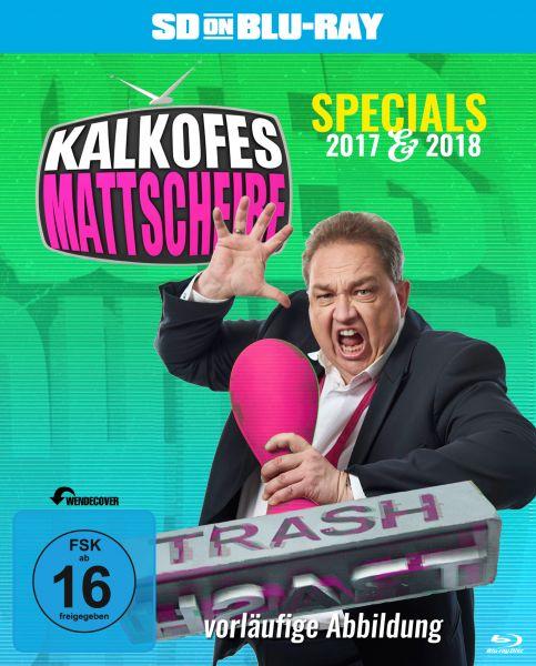Kalkofes Mattscheibe - Specials 2017 & 2018 (SD on Blu-ray) (Streichung)