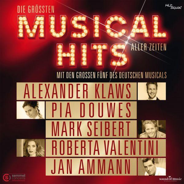 Original Cast Deutschland (Alexander Klaws, Pia Douwes, Mark Seibert, Roberta Valentini, Jan Ammann)
