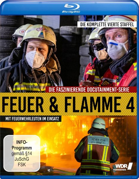 Feuer und Flamme - Mit Feuerwehrmännern im Einsatz - Staffel 4