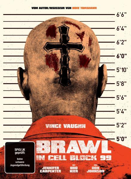 Brawl in Cell Block 99 (Uncut) - 2-Disc Mediabook (Blu-ray + DVD)