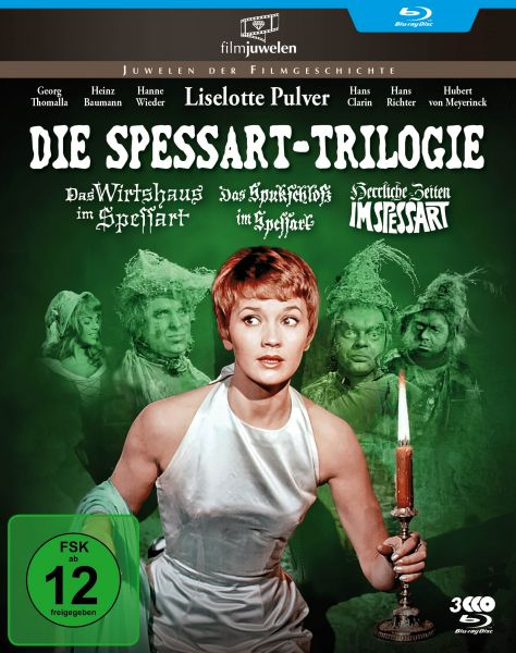 Die Spessart-Trilogie: Alle 3 Spessart-Komödien mit Lilo Pulver