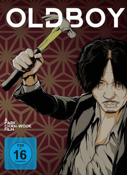 Oldboy - 4-Disc Mediabook (inkl. Soundtrack-CD)