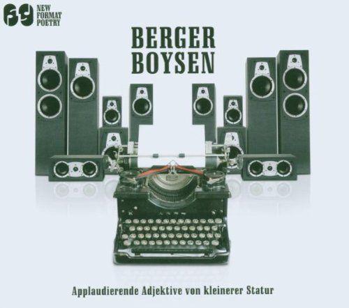 Berger Boysen - Applaudierende Adjektive von kleinerer Statur