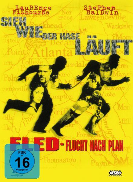 Fled - Flucht nach Plan - 2-Disc Mediabook (Blu-ray + DVD)
