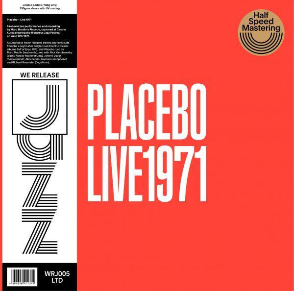 Placebo (Marc Moulin) - Live 1971 (LP)