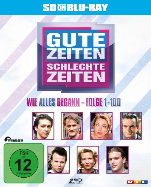 Gute Zeiten, schlechte Zeiten - Vol. 1: Folge 1-100 (zum 25-jährigen Jubiläum) (SD on Blu-ray)