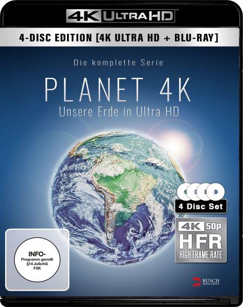 Planet 4K - Unsere Erde in Ultra HD (2 UHD Blu-rays + 2 Blu-rays)