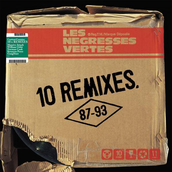 Negresses Vertes, Les - 10 Remixes (87-93) (2LP+CD)