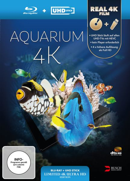 Aquarium 4K (UHD Stick in Real 4K + Blu-ray) - Limited Edition