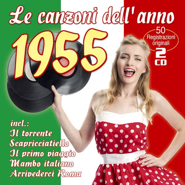 Various - Le Canzoni Dell'Anno 1955