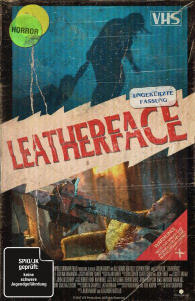 Leatherface (Uncut) - Limited Collector's Edition im VHS-Design (Blu-ray + DVD)